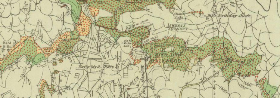 Blackwood gold map