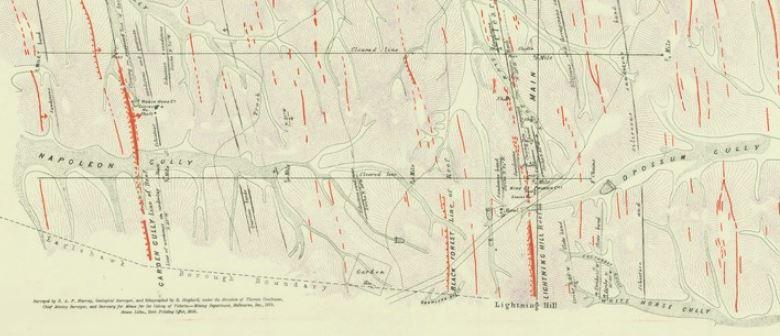 Eaglehawk gold map