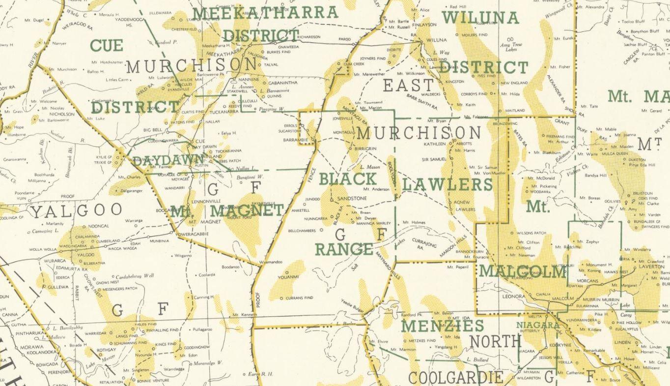 Western Australian goldfields