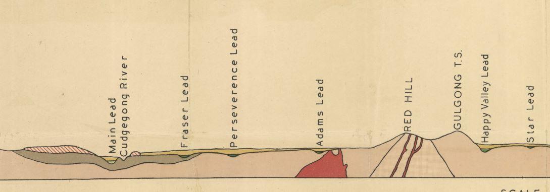 Gulgong gold map