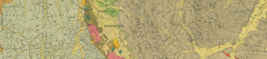 Heathcote gold map