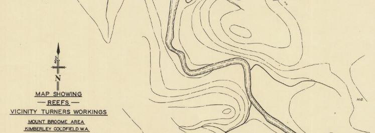 Kimberley gold map