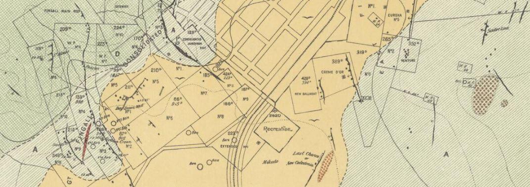 Murchison gold map