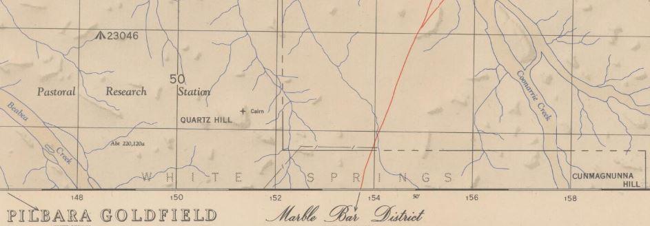 Pilbara gold map