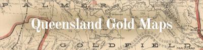 Queensland gold maps