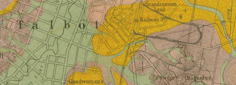 Talbot gold map