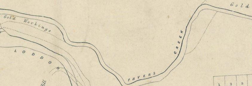Vaughan gold map