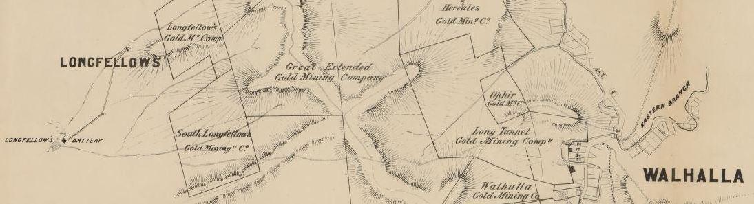 Walhalla gold map