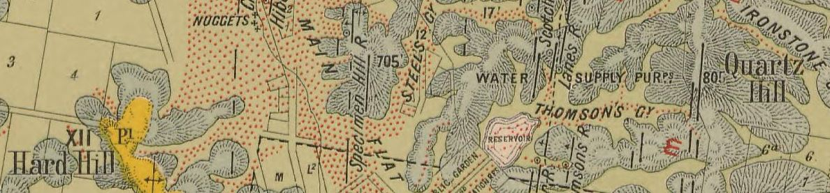 Wedderburn gold map