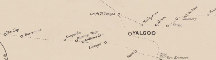 Yalgoo gold map